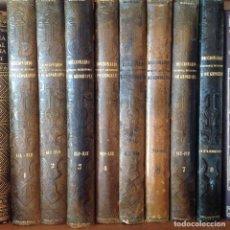 Libros antiguos: LOS 8 TOMOS (COMPLETO) DICCIONARIO UNIVERSAL DE HISTORIA Y DE GEOGRAFÍA, DE FCO. DE PAULA MELLADO. Lote 194701482