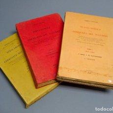 Libros antiguos: NUEVA CRÓNICA DE LA CONSQUISTA DEL TUCUMÁN - ROBERTO LEVILLIER - 3TOMOS - MADRID 1927-1932. Lote 194720412