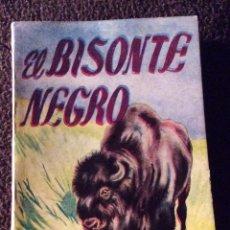 Libros antiguos: MINILIBRO ENCICLOPEDIA PULGA N - 488. EL BISONTE NEGRO. EMILIO SALGARI. Lote 194732313