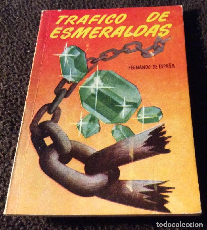MINILIBRO ENCICLOPEDIA PULGA N - 258. TRAFICO DE ESMERALDAS. FERNANDO DE ESPAÑA (Libros Antiguos, Raros y Curiosos - Literatura Infantil y Juvenil - Otros)