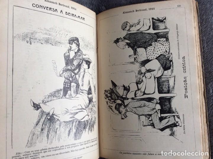 Libros antiguos: Almanach Bertrand, 1914. Muy ilustrado, coordenado por Fernandes Costa, Escaso. Envio grátis - Foto 3 - 194732738