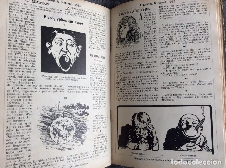 Libros antiguos: Almanach Bertrand, 1914. Muy ilustrado, coordenado por Fernandes Costa, Escaso. Envio grátis - Foto 4 - 194732738