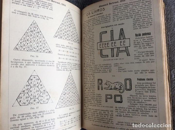 Libros antiguos: Almanach Bertrand, 1914. Muy ilustrado, coordenado por Fernandes Costa, Escaso. Envio grátis - Foto 5 - 194732738