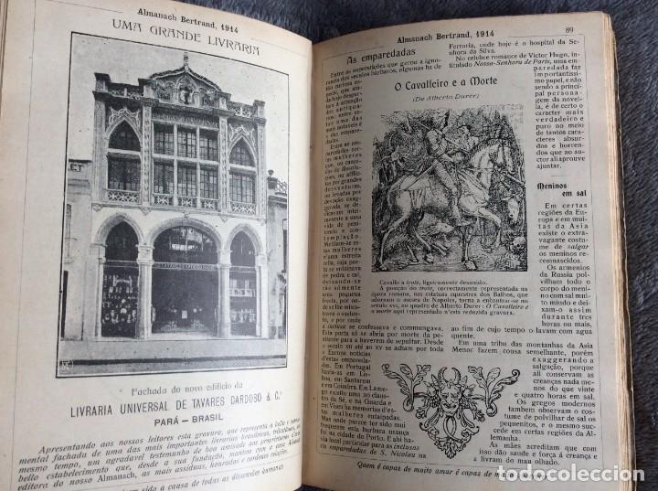 Libros antiguos: Almanach Bertrand, 1914. Muy ilustrado, coordenado por Fernandes Costa, Escaso. Envio grátis - Foto 6 - 194732738