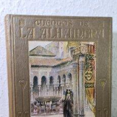 Libros antiguos: 1912 - CUENTOS DE ALHAMBRA DE WASHINGTON IRVING, MANUEL VALLVÉ. Lote 194733027