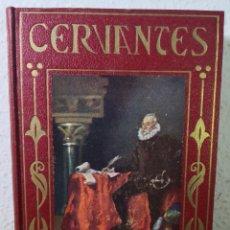 Libros antiguos: MIGUEL DE CERVANTES, SU VIDA GLORIOSA, POR MARIA LUZ MORALES, EDITORIAL ARALUCE. Lote 194733880