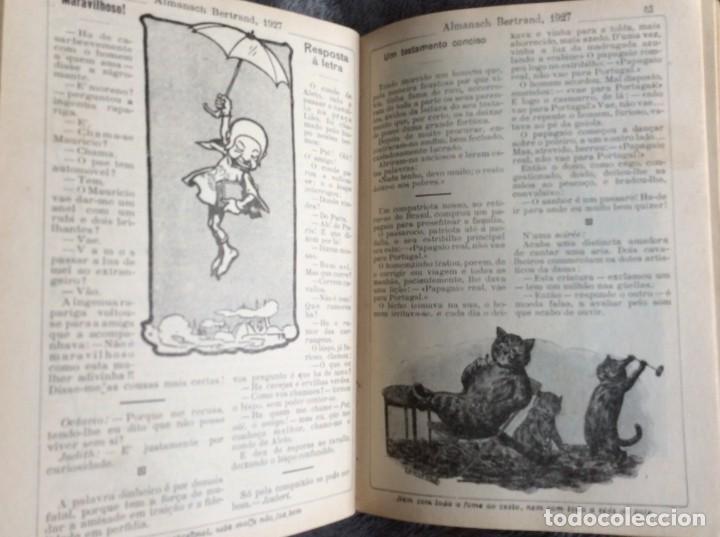 Libros antiguos: Almanach Bertrand, ano 1927. Coordenado por Maria Fernandes Costa, 1927. Envio grátis - Foto 7 - 194747841