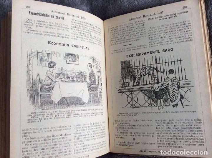 Libros antiguos: Almanach Bertrand, ano 1927. Coordenado por Maria Fernandes Costa, 1927. Envio grátis - Foto 9 - 194747841