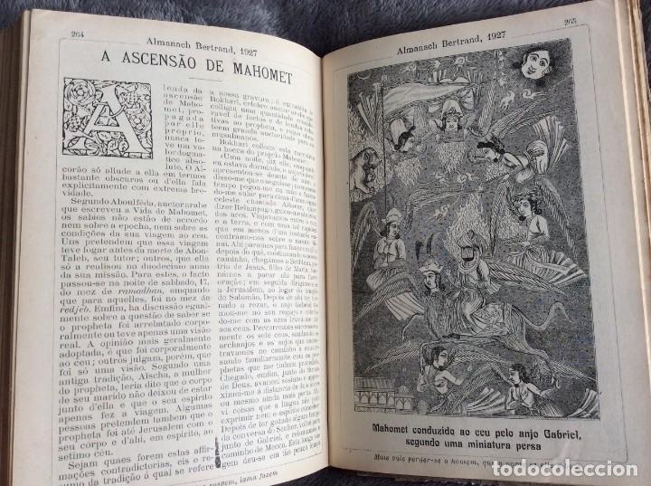 Libros antiguos: Almanach Bertrand, ano 1927. Coordenado por Maria Fernandes Costa, 1927. Envio grátis - Foto 10 - 194747841