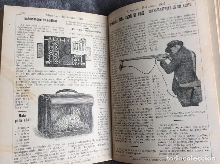 Libros antiguos: Almanach Bertrand, ano 1927. Coordenado por Maria Fernandes Costa, 1927. Envio grátis - Foto 12 - 194747841