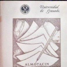 Libros antiguos: ALMOTACIN Nª 3. ESCUELA DE MAGISTERIO DE ALMERIA. UNIVERSIDAD DE GRANADA. 1984. Lote 194747997