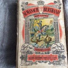 Libros antiguos: ALMANACH BERTRAND, ANO 1919.CON UNA PÁGINA DEDICADA AL CANTO ANDALUZ. ENVIO GRÁTIS. Lote 194748018