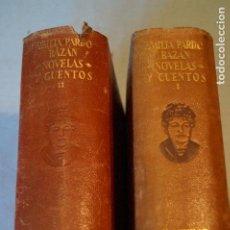 Libri antichi: NOVELAS Y CUENTOS. AGUILAR. EMILIA PARDO BAZAN.. Lote 194752830