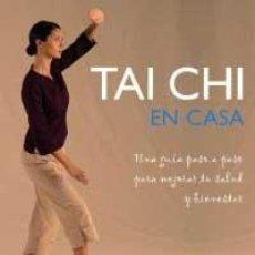 Libros antiguos: TAI CHI EN CASA . Lote 194753268