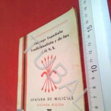 Libros antiguos: TUBAL SEVILLA 1940 FALANGE JEFATURA DE MILICIAS EDUARDO ALVAREZ REMENTERIA B48. Lote 194775617