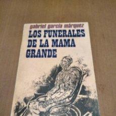 Libros antiguos: LOS FUNERALES DE MAMA GRANDE . Lote 194778176