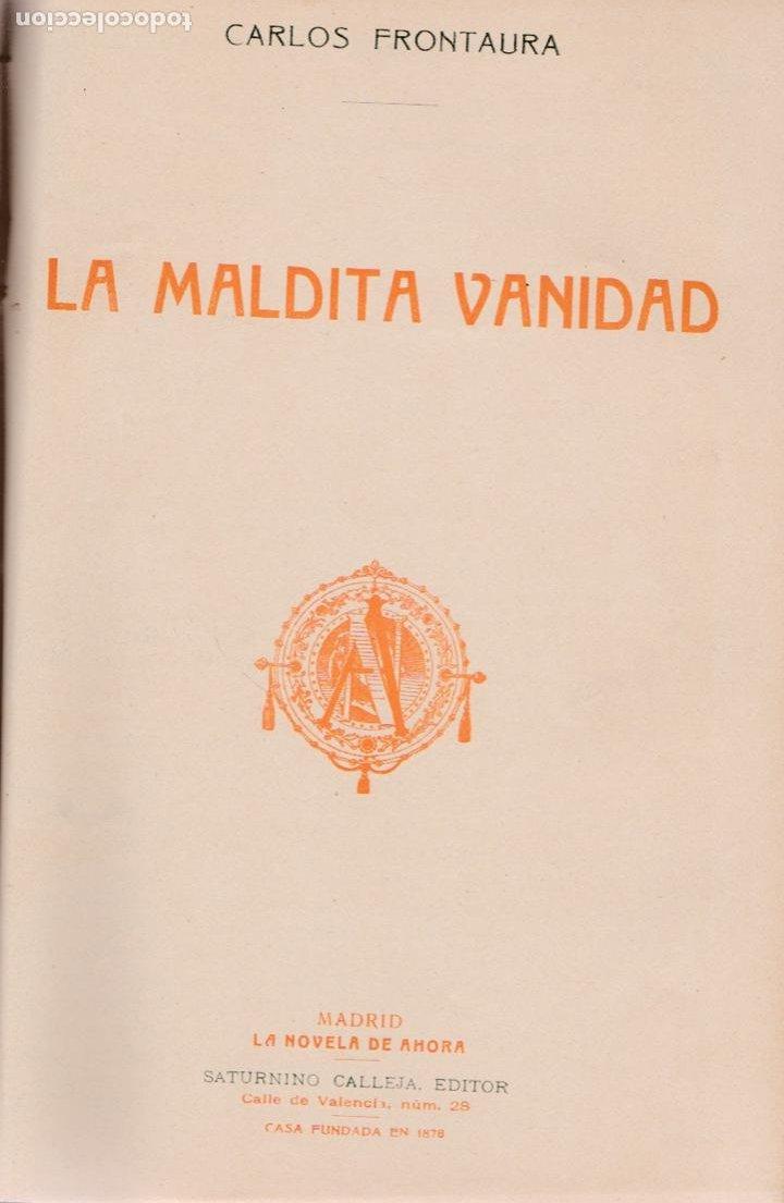 Libros antiguos: El sacristán de las monjas – La maldita vanidad – La casa de las mil brujas -Brígida. - Foto 3 - 194858727