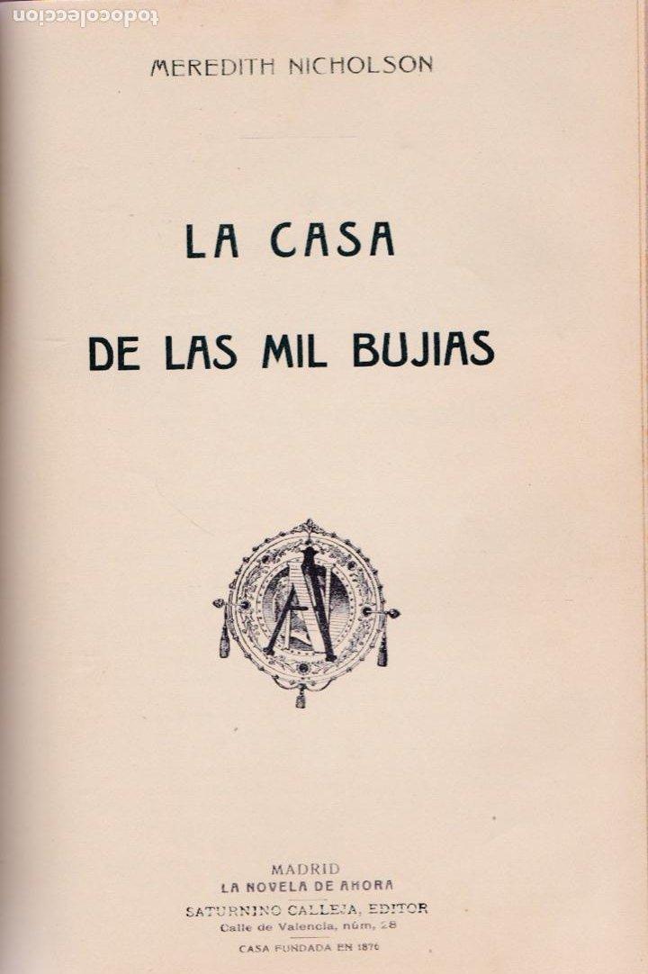 Libros antiguos: El sacristán de las monjas – La maldita vanidad – La casa de las mil brujas -Brígida. - Foto 4 - 194858727