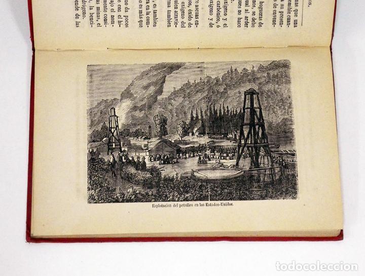 Libros antiguos: HÉMENT (Edgard).– Historia de un pedazo de carbón. Biblioteca Científica Recreativa, 1880. Ilustrado - Foto 3 - 194870648