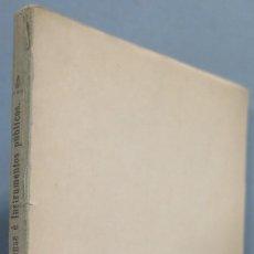 Libros antiguos: 1901.- PROGRAMA Y PLAN DE LAS LECCIONES DE PRACTICA FORENSE. Lote 194871891