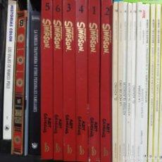 Libros antiguos: COLECCION SIMPSON SUPER HUMOR BRUGUERA 6 TOMOS COMPLETA. Lote 194875990