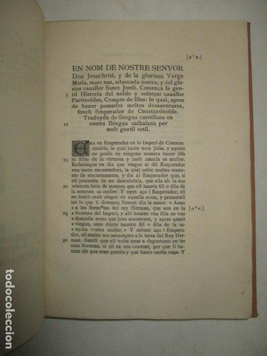 Libros antiguos: HISTORIA DE LESFORÇAT CAVALLER PARTINOBLES. 1912. - Foto 4 - 194878683