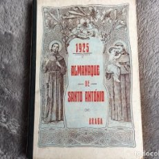 Libros antiguos: ALMANAQUE DE SANTO ANTÓNIO, 1925. MUY ESCASO. ENVIO GRÁTIS. Lote 194878973