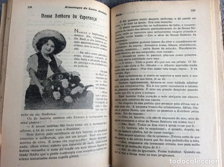 Libros antiguos: Almanaque de Santo António, 1925. Muy escaso. Envio grátis - Foto 2 - 194878973