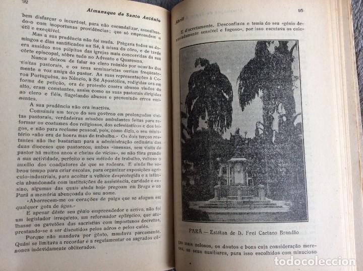 Libros antiguos: Almanaque de Santo António, 1925. Muy escaso. Envio grátis - Foto 3 - 194878973
