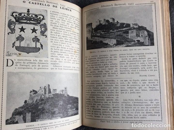 Libros antiguos: Almanach Bertrand, ano 1933. Envio grátis. - Foto 6 - 194882885