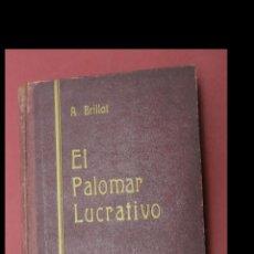 Libros antiguos: EL PALOMAR LUCRATIVO. TRATADO PRÁCTICO DE LA EXPLOTACIÓN INDUSTRIAL DE LAS PALOMAS... A. BRILLAT. Lote 194884413