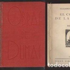 Libros antiguos: EL COLLAR DE LA REINA TOMOS I AL V Y EL CAPITAN PANFILO - DUMAS, ALEJANDRO - A-NOV-1258. Lote 194887871
