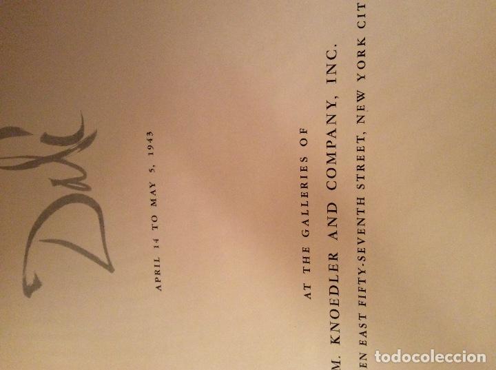 Libros antiguos: Libro Dali 1943 Dali - Foto 2 - 194889138
