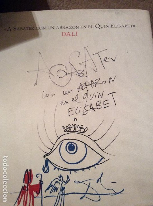 LIBRO DALI A SABATE (Libros Antiguos, Raros y Curiosos - Literatura - Otros)