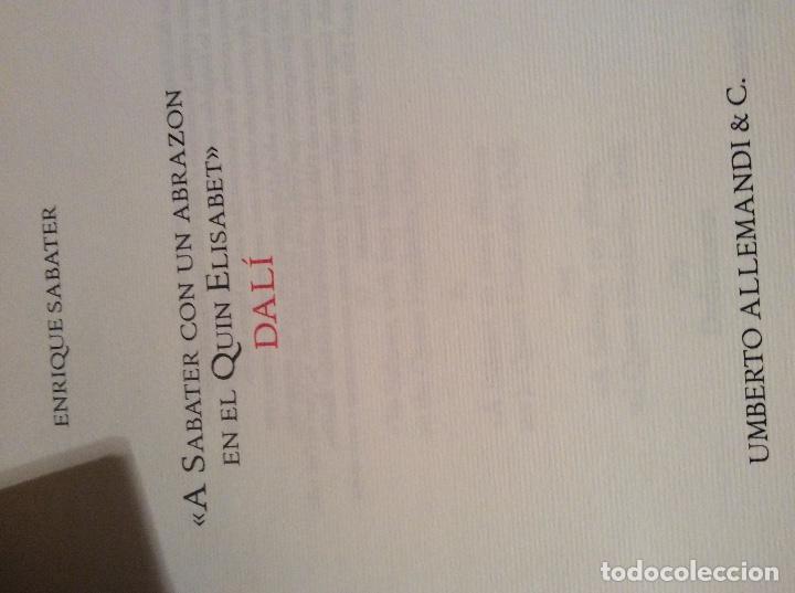 Libros antiguos: Libro Dali a Sabate - Foto 2 - 194889220