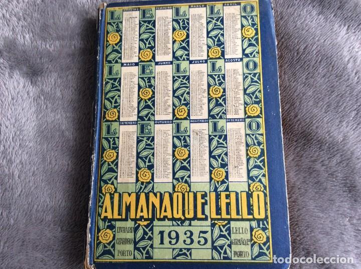 Libros antiguos: Almanaque Lello, 1935. ( historia, viajes, ciencia, pasatiempos, curiosidades, etc. ). Envio grátis - Foto 2 - 194889322
