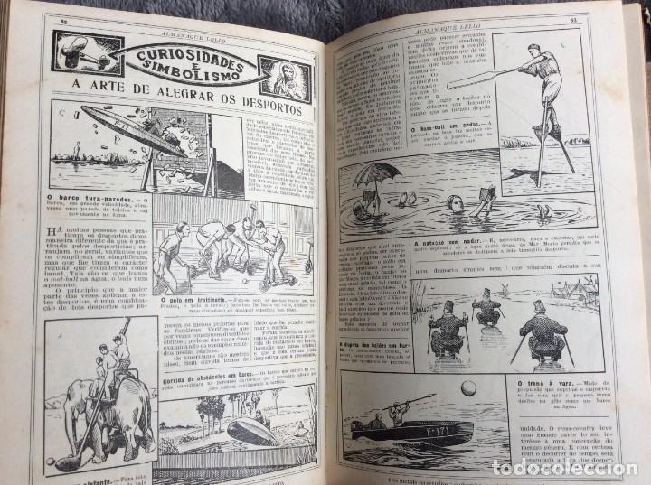 Libros antiguos: Almanaque Lello, 1935. ( historia, viajes, ciencia, pasatiempos, curiosidades, etc. ). Envio grátis - Foto 4 - 194889322