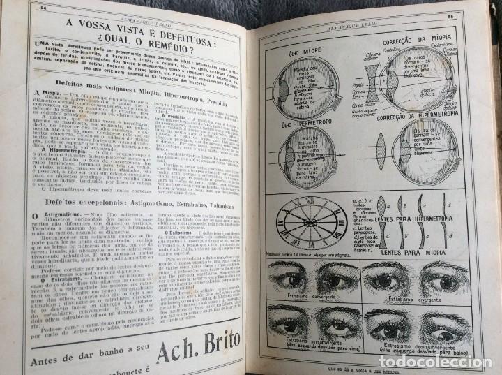Libros antiguos: Almanaque Lello, 1935. ( historia, viajes, ciencia, pasatiempos, curiosidades, etc. ). Envio grátis - Foto 5 - 194889322