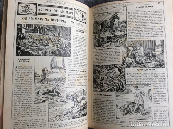 Libros antiguos: Almanaque Lello, 1935. ( historia, viajes, ciencia, pasatiempos, curiosidades, etc. ). Envio grátis - Foto 6 - 194889322
