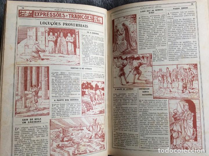 Libros antiguos: Almanaque Lello, 1935. ( historia, viajes, ciencia, pasatiempos, curiosidades, etc. ). Envio grátis - Foto 8 - 194889322