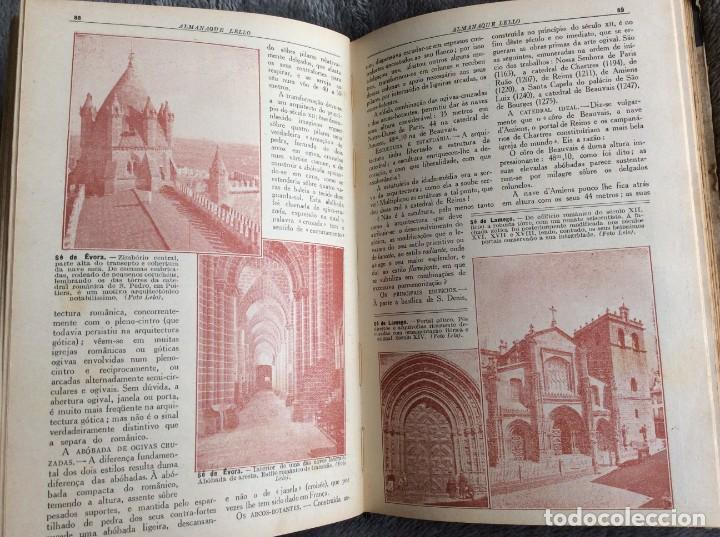 Libros antiguos: Almanaque Lello, 1935. ( historia, viajes, ciencia, pasatiempos, curiosidades, etc. ). Envio grátis - Foto 11 - 194889322
