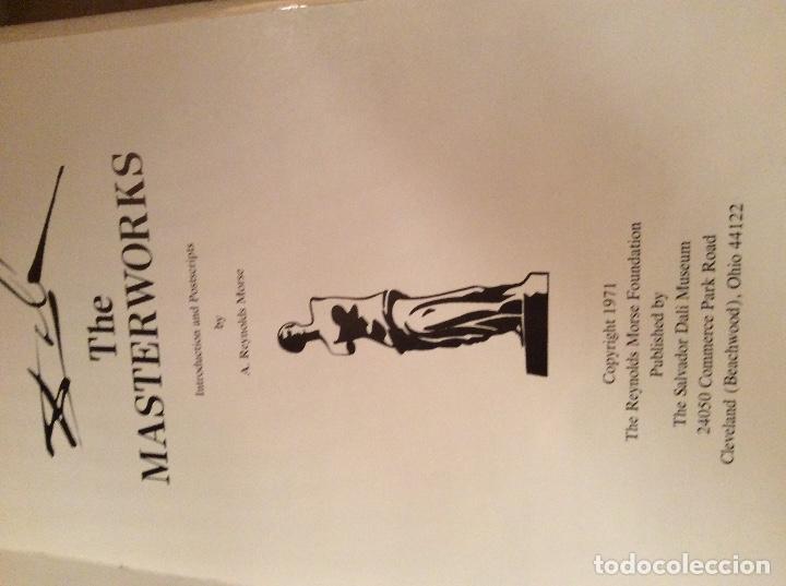 Libros antiguos: The Masterwoks Salvador Dali 1971 - Foto 2 - 194890210