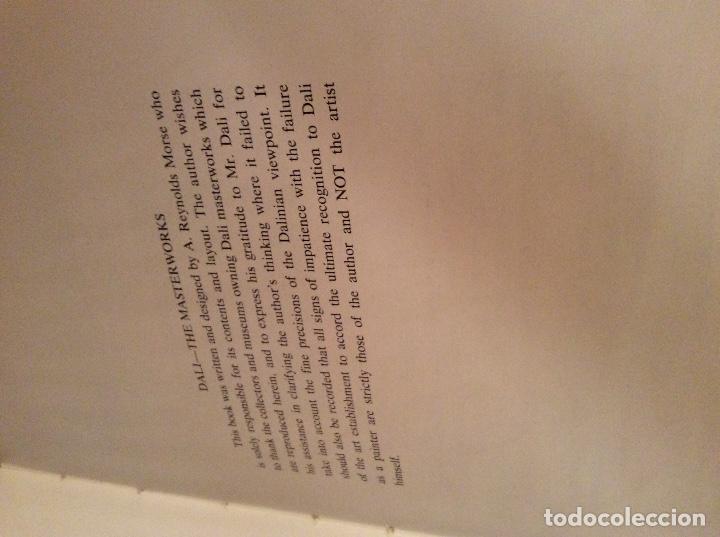 Libros antiguos: The Masterwoks Salvador Dali 1971 - Foto 6 - 194890210
