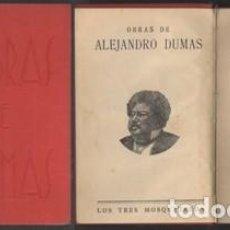 Libros antiguos: VEINTE AÑOS DESPUES TOMOS I AL IV . (2 TOMOS). - DUMAS, ALEJANDRO - A-NOV-1261. Lote 194890452