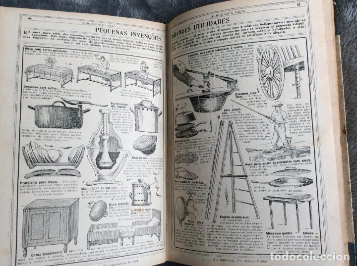 ALMANAQUE LELLO, 1933. ( HISTORIA, VIAJES, CIENCIA, PASATIEMPOS, CURIOSIDADES, ETC. ). ENVIO GRÁTIS (Libros Antiguos, Raros y Curiosos - Historia - Otros)