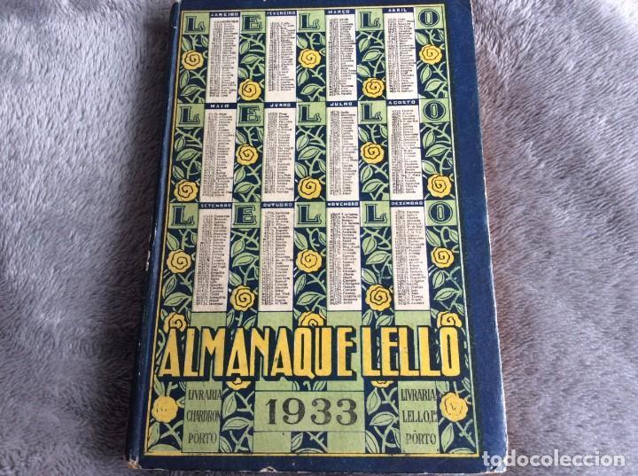 Libros antiguos: Almanaque Lello, 1933. ( historia, viajes, ciencia, pasatiempos, curiosidades, etc. ). Envio grátis - Foto 2 - 194890866