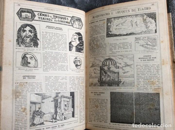 Libros antiguos: Almanaque Lello, 1933. ( historia, viajes, ciencia, pasatiempos, curiosidades, etc. ). Envio grátis - Foto 4 - 194890866