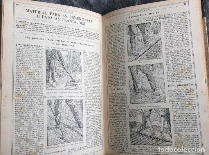 Libros antiguos: Almanaque Lello, 1933. ( historia, viajes, ciencia, pasatiempos, curiosidades, etc. ). Envio grátis - Foto 6 - 194890866