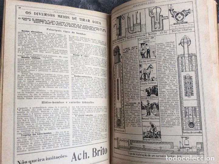 Libros antiguos: Almanaque Lello, 1933. ( historia, viajes, ciencia, pasatiempos, curiosidades, etc. ). Envio grátis - Foto 8 - 194890866