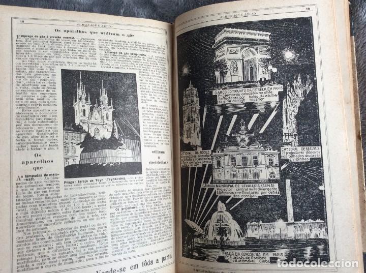 Libros antiguos: Almanaque Lello, 1933. ( historia, viajes, ciencia, pasatiempos, curiosidades, etc. ). Envio grátis - Foto 9 - 194890866